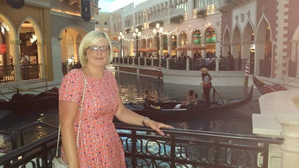 Leanne in Las Vegas
