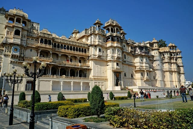 Udaipur City Palace, India
